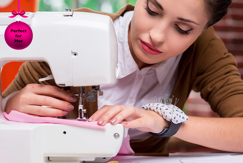 £29 for a 3-hour sewing machine class for beginners inc. buttonholes, decorative stitches and more at Junk Shop, Manchester - save 52%