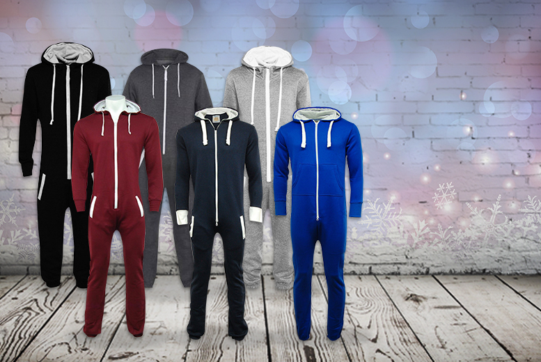 £11.99 instead of £39.99 (from Top Notch Fashion) for a soft fleece onesie - save 70%