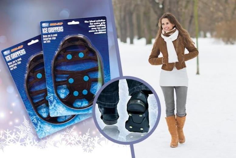 £4.99 instead of £12 (from Urshu) for 2 pairs of snow shoe grips - keep calm and save 58%