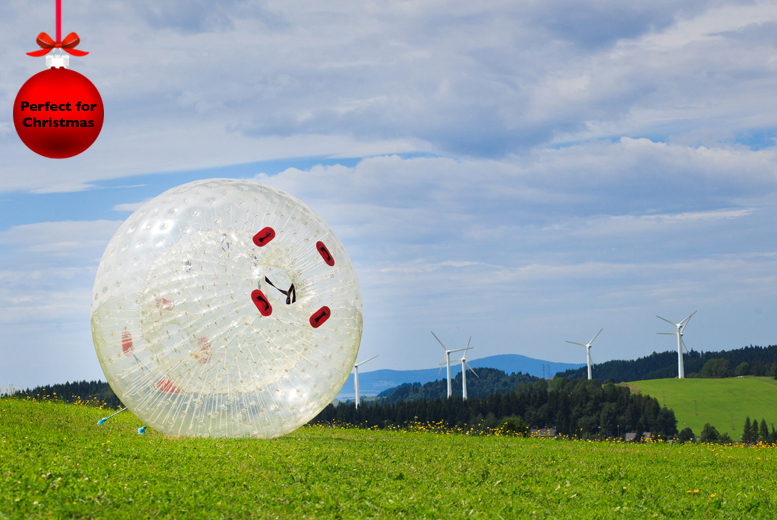 £49 for a harness zorbing experience for two people with Buyagift - 4 nationwide locations!
