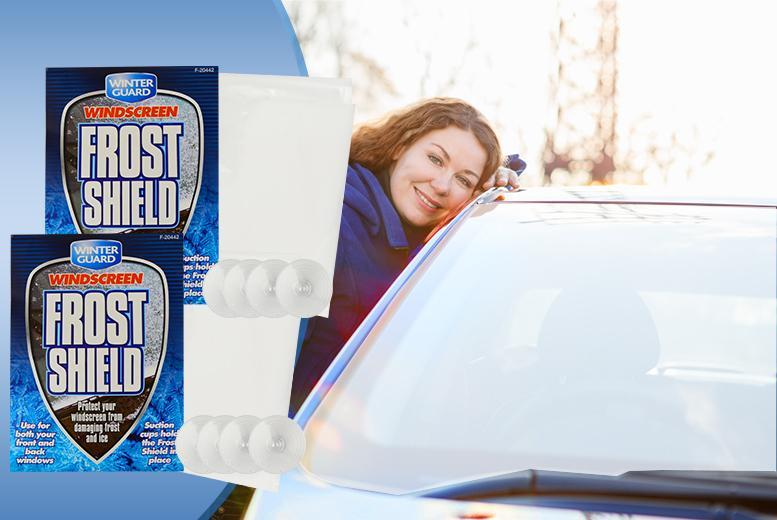 £5 instead of £15 (from Urshu) for two windscreen frost shields - beat Jack Frost and save 67%