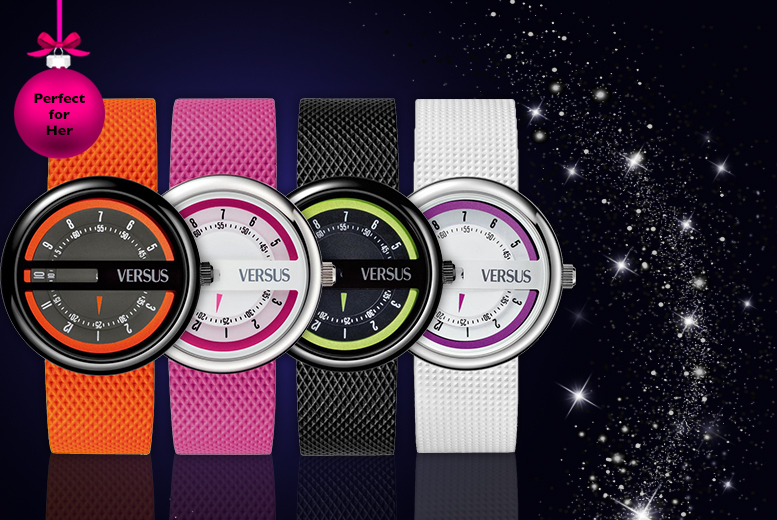 £39.99 instead of £145.01 for a ladies' Versus By Versace Osaka watch in a choice of 4 designs from Wowcher Direct - save 72%