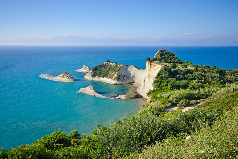 From £179pp for a three-night all-inclusive Corfu escape with sea view room and flights, £269pp for five nights or £349pp for seven nights - save up to 49%