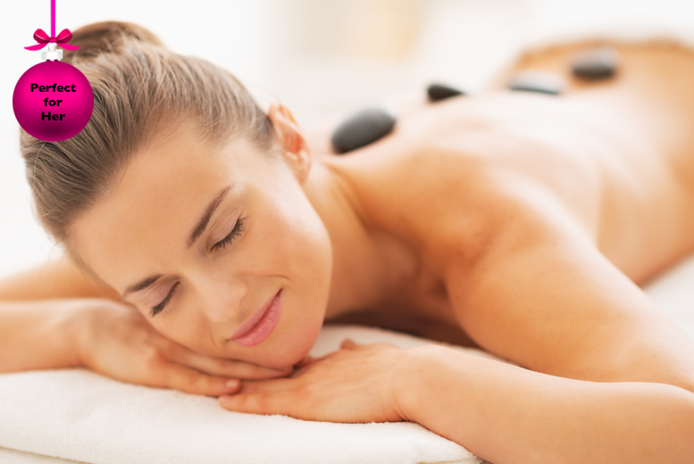 £19 for a 'winter warming' pamper package inc. hot stone back massage, facial and more, or £24 to inc. a scalp massage at Natural Spa - save up to 78%