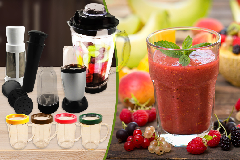 £17.99 instead of £59 for a 17-piece multi-purpose blender from Wowcher Direct - mix it up and save 70%