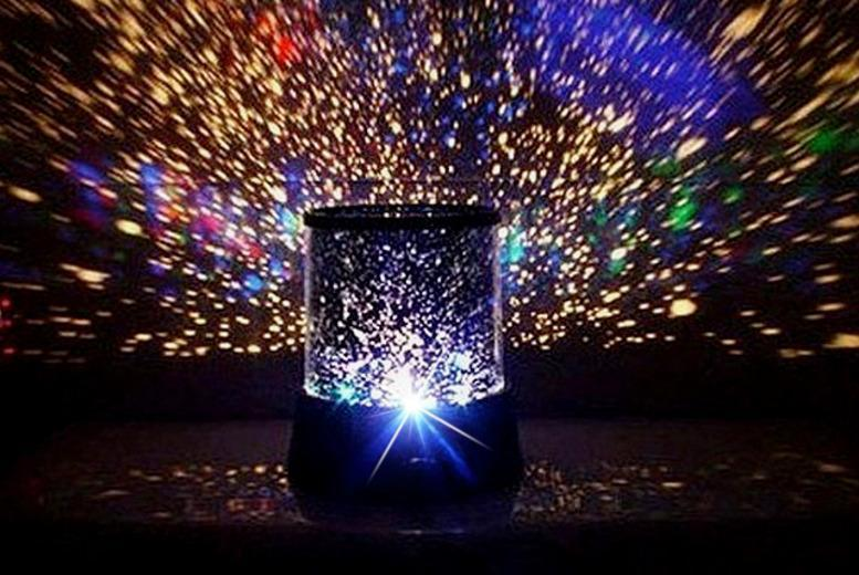 £6 instead of £14.99 (from Groundlevel.co.uk) for a kids' multi-coloured starlight projector - save 60%