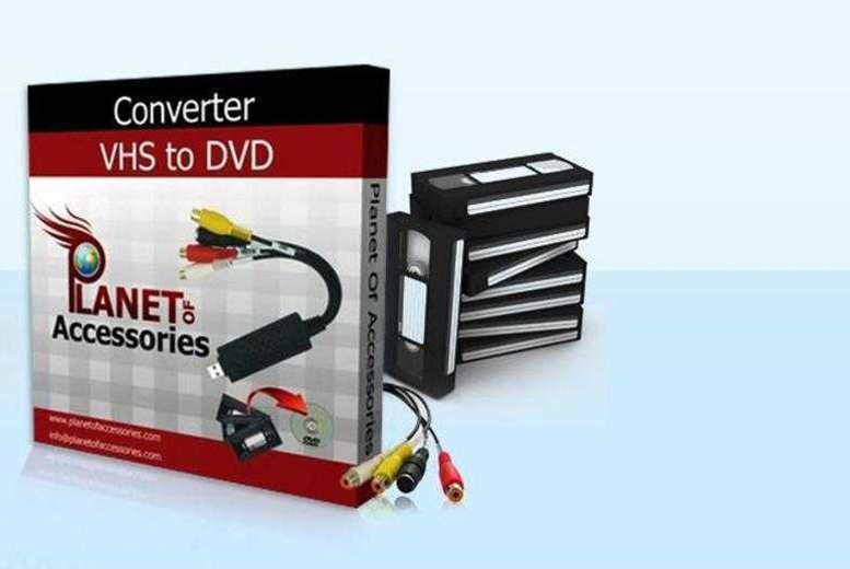 £14.99 instead of £39.99 (from Planet of Accessories) for a VHS to DVD converter or £19.99 to include a tools pack - save up to 63%