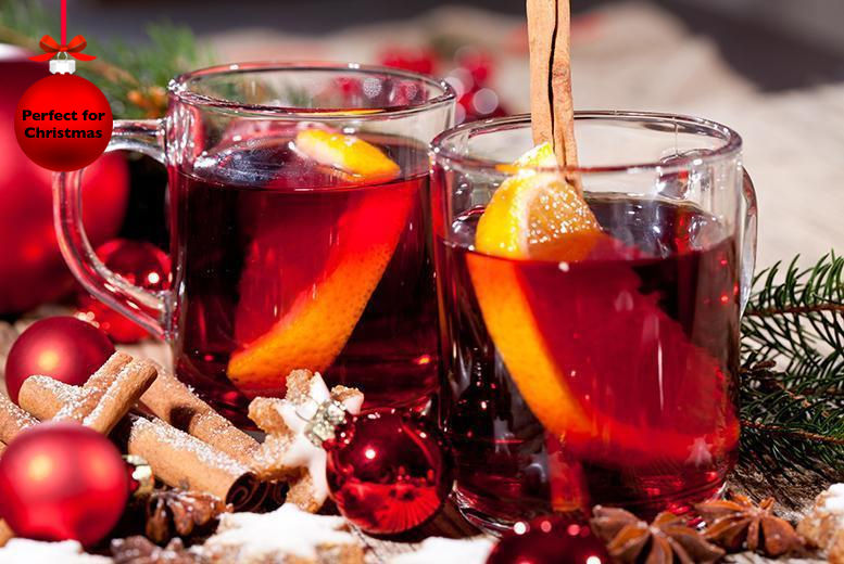 £14 for a winter afternoon tea for 2 with a glass of mulled wine each at The Wroxeter Hotel, near Shrewsbury