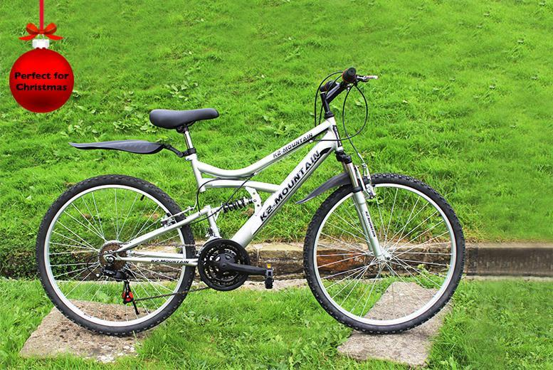 £79.99 instead of £199 for a choice of 2 adult mountain bikes from Wowcher Direct - get a wheely good deal and save 60%