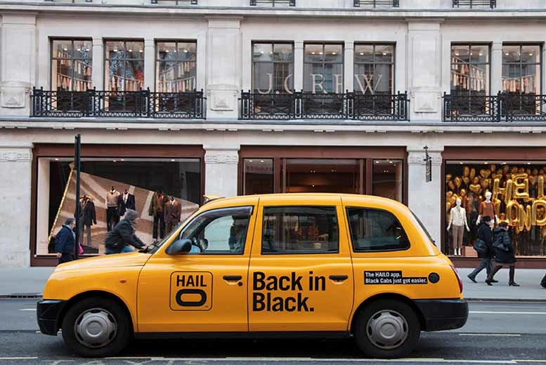 £5 for a £15 credit towards a taxi journey with Hailo - sit back, relax & save 67%