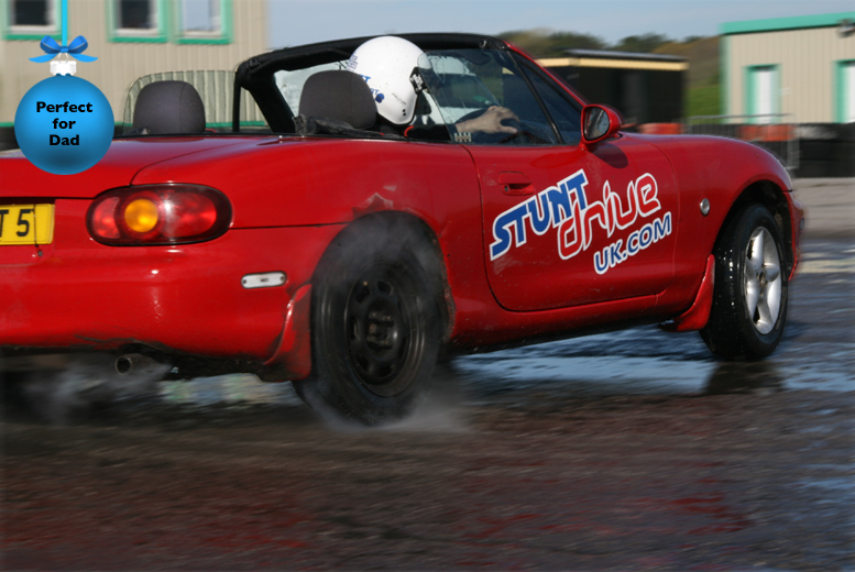 £59 for a 2-hour stunt driving experience at a choice of 4 UK locations from Stunt Drive UK.com - save 60%