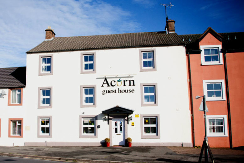 £99 instead of £243.95 for a two night Cumbrian stay including breakfast, two-course dining and a bottle of Prosecco for two people at Acorn Guest House - save up to 59%