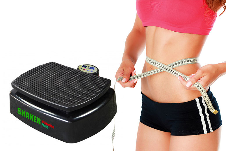 £69 instead of £198 (from Bells Bay) for a shaker vibration plate with remote control, with a limited number available for £54 - tone up at home and save up to 73%