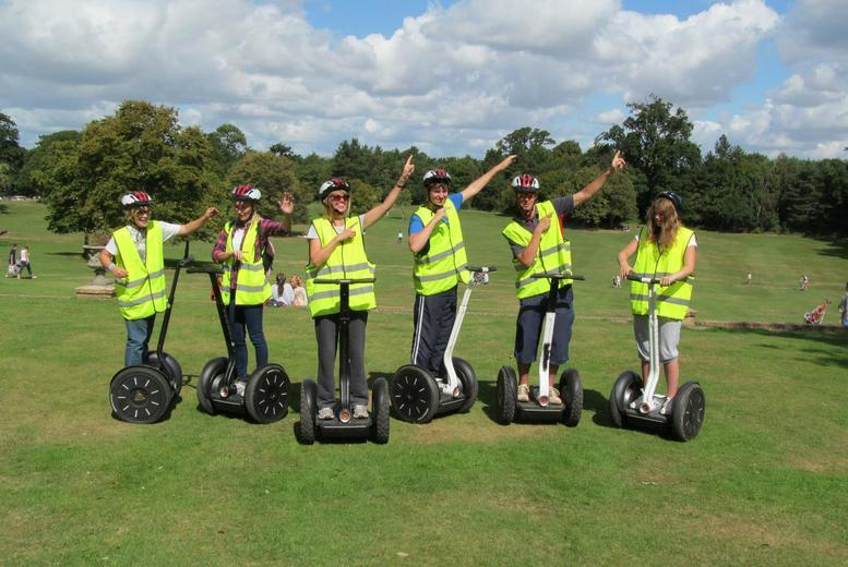 £19 instead of £35 for a one-hour Segway tour of Upton Country Park, Poole from Dorset Segways - save 46%