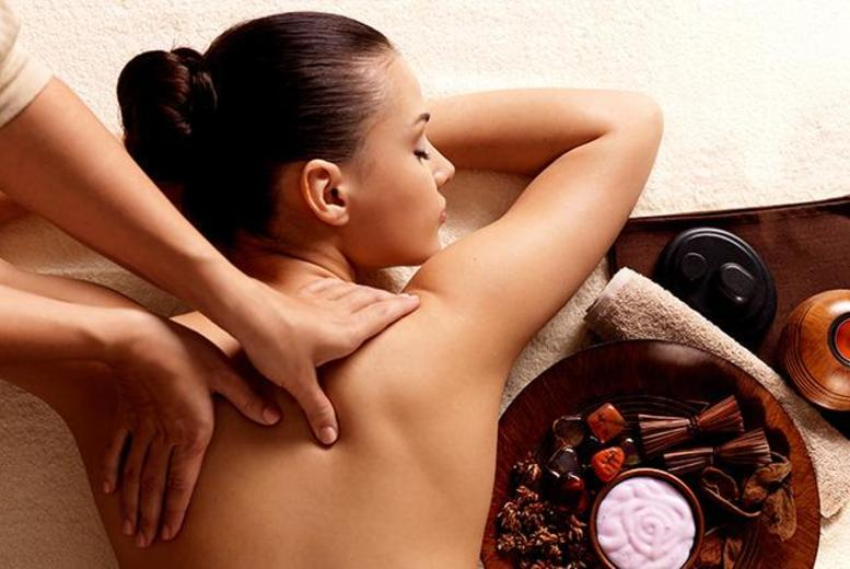 £17 for a one-hour pamper package including a back, neck and shoulders hot stone massage, express facial and scalp massage at Brown Cow Salon, Bolton - save 67%