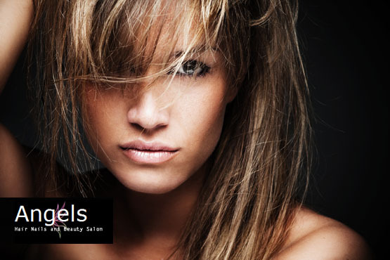 £36 instead of £100 for a half head of highlights or a full head of colour, plus a cut and blow dry with a senior stylist at Angels Salon - save 64%