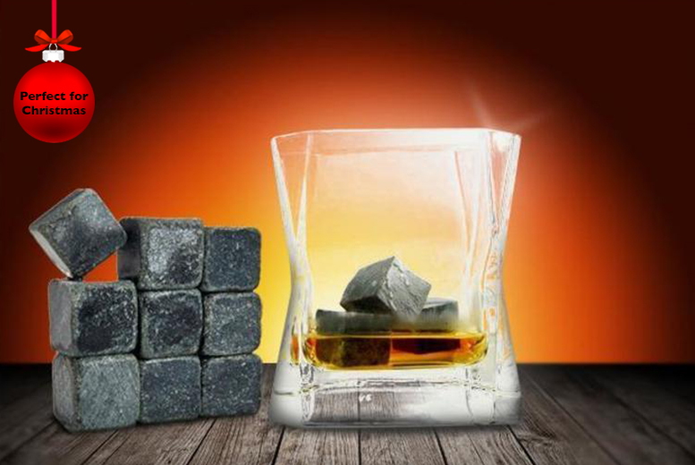 £7.99 instead of £28.99 (from Merchtopia) for a set of 9 whisky stones - save a cool 72% + DELIVERY IS INCLUDED!