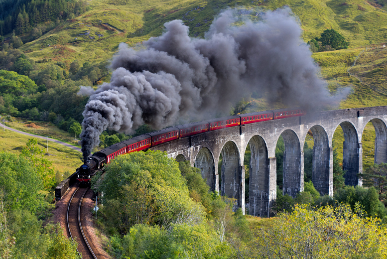 £24 for a steam train experience for two people or £29 for a family ticket with Activity Superstore - 5 locations!