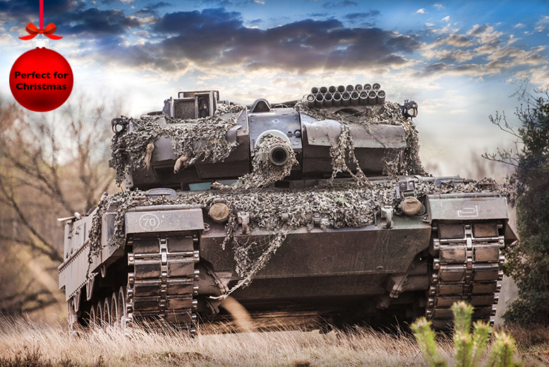 £99 for a 2-hour tank paintballing experience with Activity Superstore, Leicestershire