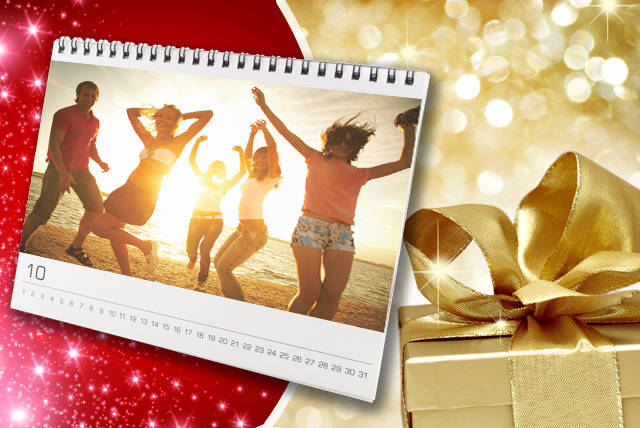 £5 instead of £9.99 (from Foboco) for a 21cm x 28cm personalised calendar - choose landscape or portrait and save 50%