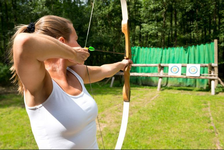 £19 instead of £49.95 for a 2-hour archery experience for up to 8 with Aim Archery, Battle - save 62%