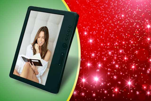 £49.99 for an eelo colour eReader, case and headphones from CPR Distribution