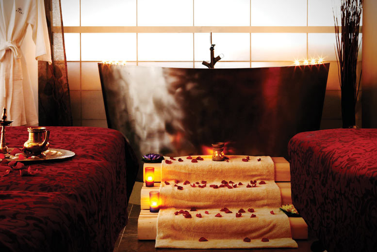 £350 instead of £620 for a four hour spa day for two with treatments, a three-course candlelit lunch, bubbly and gift pack for two at Antara Spa, Chelsea - save 44%