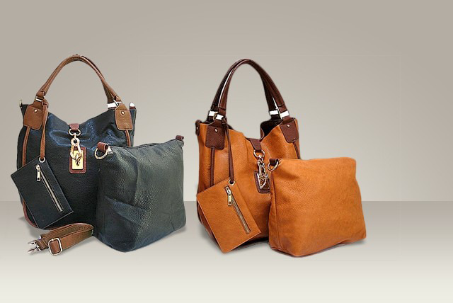 £24 instead of £60 (from A-SHU.co.uk) for a 4-piece faux-leather tote handbag set in a choice of colours - save a tote-ally amazing 60%