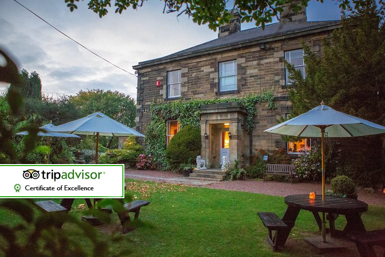 From £69 for an overnight stay for two people with cream tea and breakfast, or from £99 for a two-night stay at Horton Grange Hotel, Tyne and Wear - save up to 35%