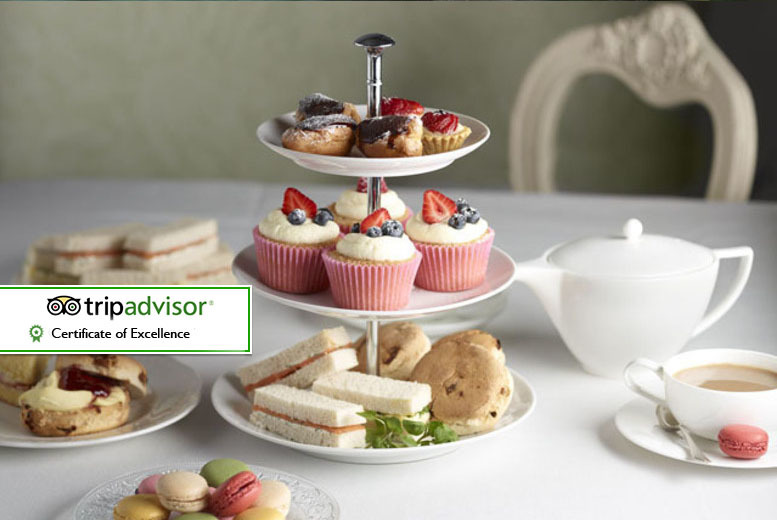 £10.95 instead of £15 for a traditional or chocolate afternoon tea for two people at Delicious Decadence, Newcastle - save 27%
