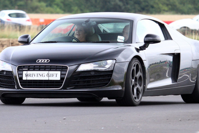 £39 for a supercar driving experience in one car, £78 in two cars, £117 in three cars or £129 in four cars at Driving Gift, Derby or York - save £10