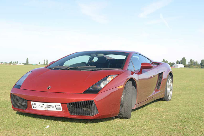 From £39 for a three lap Lamborghini driving experience with Experience Limits - save up to 74%