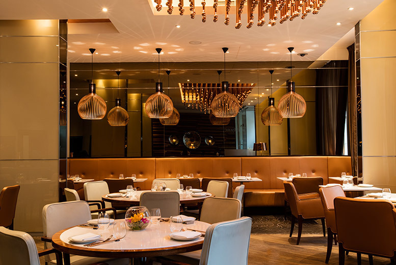 £49 for a six-course tasting menu for two people with a bottle of Prosecco at Nirvana Kitchen at 5* Montcalm Hotel, Marble Arch