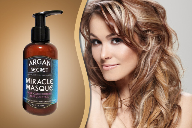 £10 instead of £21.99 (from Eggsnog) for a 125ml argan oil miracle hair masque - replenish your roots and save 55%