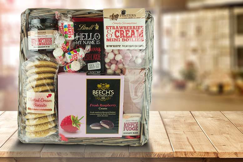 £15 for a luxury Valentine's Day hamper from Fosters Traditional Foods