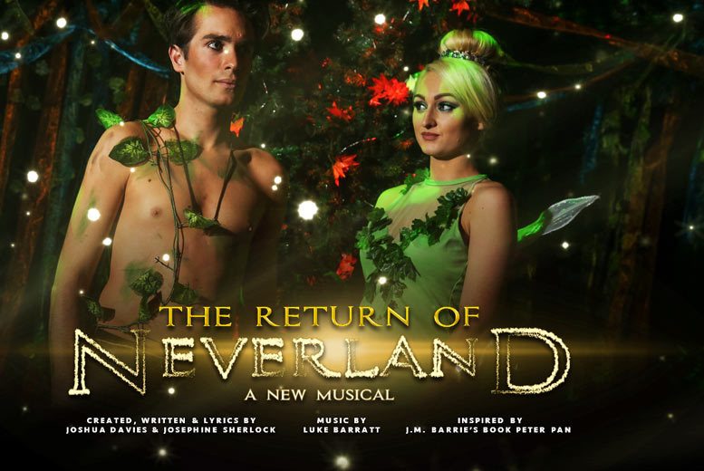 £11.50 instead of £16.50 for a ticket to 'the Return of Neverland' at the Millfield Theatre from Make Believe Productions - save 30%