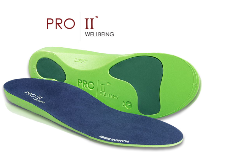 £4.99 instead of £18 (from Pro 11 Wellbeing) for a pair of Pro 11 orthotic insoles, £8.99 for two pairs - save up to 72%