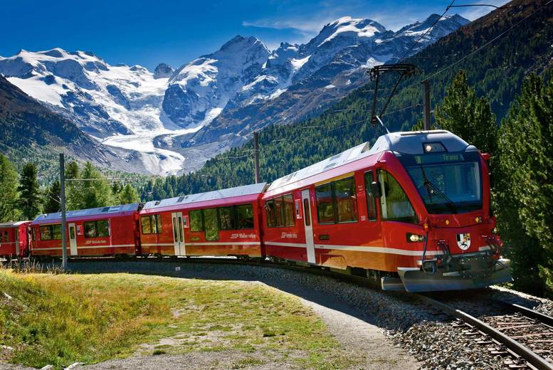 From £299pp (from Weekender Breaks) for a three-night Italy and Switzerland break including scenic Bernina express train & flights - save up to 24%