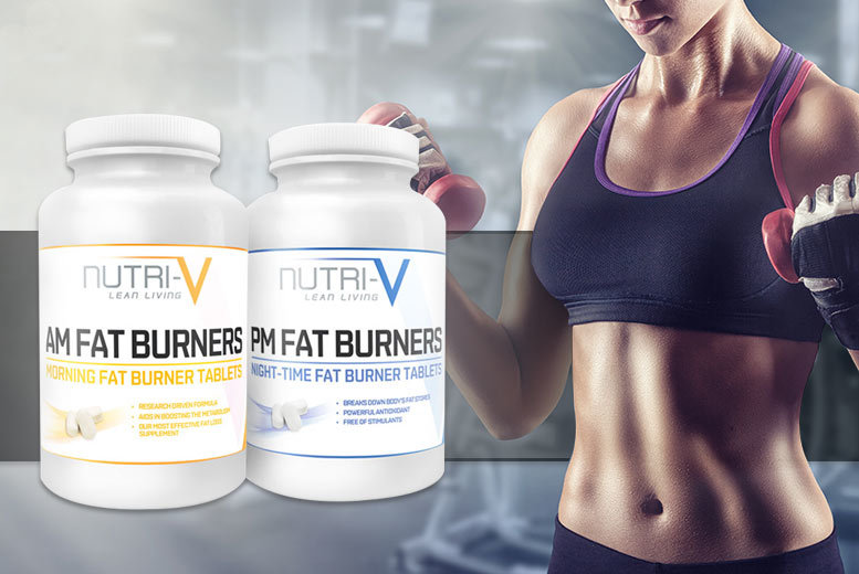 £7 instead of £35 (from Nutri-V) for a one-month* supply of AM-PM 'fat burner' supplement pills or upgrade to a three-month supply for £17 - save up to 80%