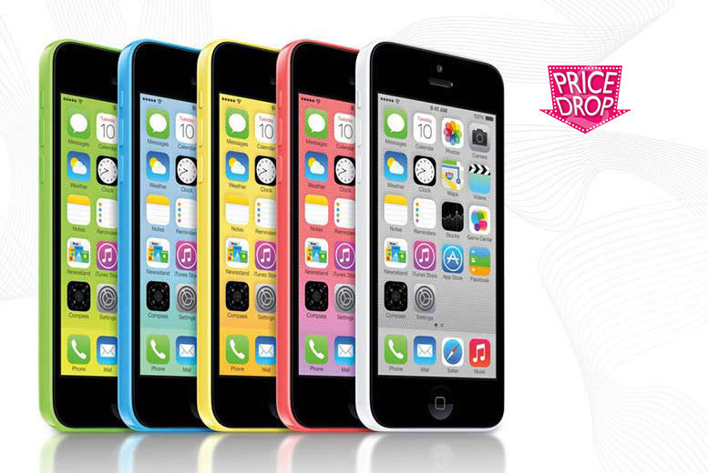 £119 instead of £199 (from Fone Plaza) for an unlocked 8GB iPhone 5c - choose from five colours and save a cool 40%