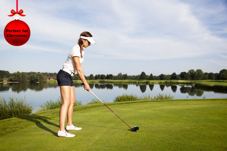 £12 for a 30-minute golf lesson for up to two people, or £24 for a 60-minute lesson with Hunter Knight Golf Coaching - save up to 52%