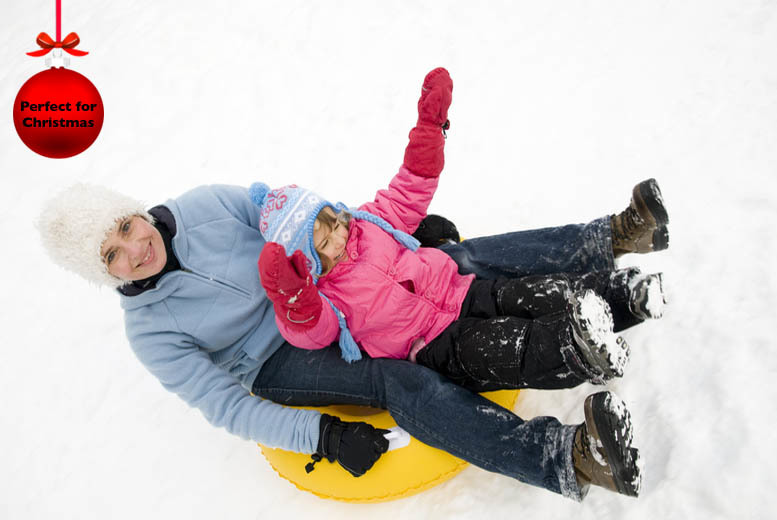 £8 for a 30-minute sno-tubing and tobogganing session for 2, or £16 for 4 at Swadlincote Ski Slope & Snowboard Centre - save up to 56%