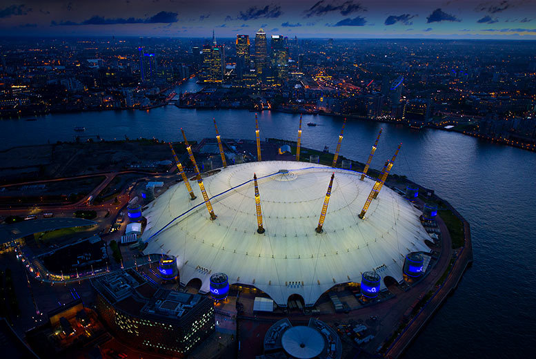 £79pp (from OMGhotels.com) for a 3* London stay with breakfast and 'Up at the O2' experience, £99pp for a 4* stay - save up to 56%