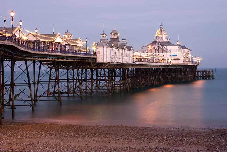 From £39 for an overnight stay in Eastbourne for two people with breakfast, from £59 for four, from £69 for a two-night stay for two, from £89 for four - save up to 44%
