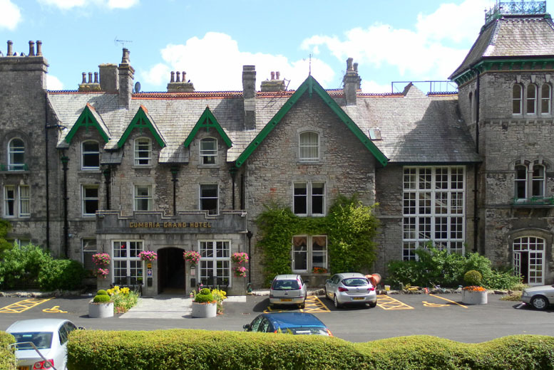 £99 (at The Cumbria Grand Hotel) for a 2-night break for 2 people including a glass of Cava each, breakfast each morning and late checkout - save up to 34%