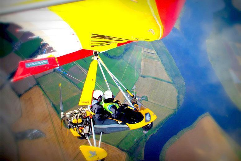 £59 for a 30-minute microlight flight with The Scottish Microlight Flight Centre - the perfect festive gift!
