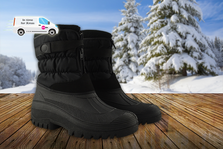 £15.99 instead of £39.99 (from Chums) for a pair of fleece-lined snow boots - save 60%