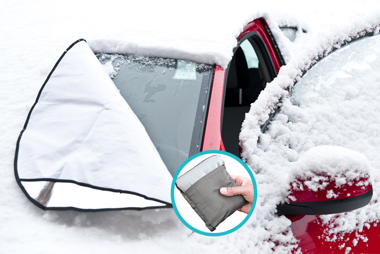 £4.99 instead of £19.99 (from Zoozio) for a magnetic windscreen cover - fight frost and save 75%