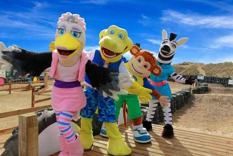 £69 (from Pontins) for a three or four-night break for up to six people