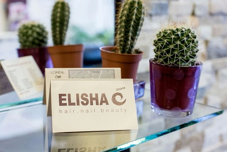£19 for a wash, cut & blow dry from Elisha Hair and Beauty